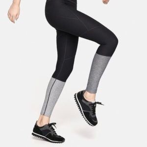 Outdoor Voices Dipped Compression Leggings